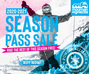 Mt. High Season Pass Sale 2020